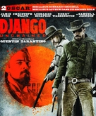 Django Unchained - French Blu-Ray movie cover (xs thumbnail)