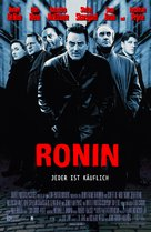 Ronin - German Movie Poster (xs thumbnail)