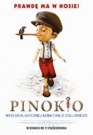 Pinocchio - Polish Movie Poster (xs thumbnail)