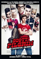 Scott Pilgrim vs. the World - Spanish Movie Poster (xs thumbnail)