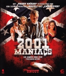 2001 Maniacs - German Blu-Ray cover (xs thumbnail)