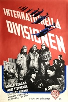 International Squadron - Swedish Movie Poster (xs thumbnail)