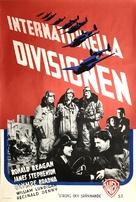 International Squadron - Swedish Movie Poster (xs thumbnail)