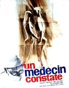 Arzt stellt fest..., Der - French Movie Poster (xs thumbnail)