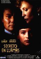 Burning Secret - Spanish Movie Poster (xs thumbnail)