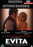 Evita - Danish DVD movie cover (xs thumbnail)