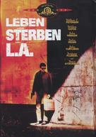 To Live and Die in L.A. - German Movie Cover (xs thumbnail)