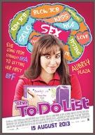 The To Do List - Thai Movie Poster (xs thumbnail)