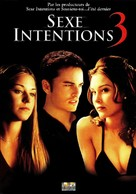 Cruel Intentions 3 - French DVD cover (xs thumbnail)
