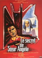Le secret de soeur Angèle - French Movie Poster (xs thumbnail)