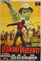 The Violent Men - Italian Movie Poster (xs thumbnail)