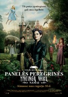 Miss Peregrine's Home for Peculiar Children - Lithuanian Movie Poster (xs thumbnail)