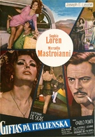 Matrimonio all'italiana - Swedish Movie Poster (xs thumbnail)