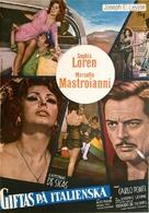Matrimonio all'italiana - Swedish Movie Poster (xs thumbnail)