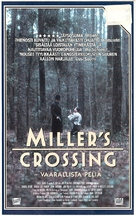 Miller's Crossing - Finnish VHS cover (xs thumbnail)