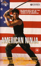 American Ninja - British VHS movie cover (xs thumbnail)