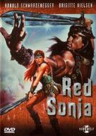Red Sonja - German Movie Cover (xs thumbnail)