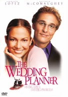 The Wedding Planner - DVD cover (xs thumbnail)