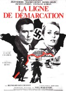 La ligne de démarcation - French Movie Poster (xs thumbnail)
