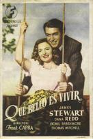 It's a Wonderful Life - Spanish Movie Poster (xs thumbnail)