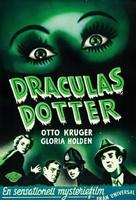 Dracula's Daughter - Swedish Movie Poster (xs thumbnail)