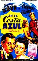 On the Riviera - Italian Movie Poster (xs thumbnail)