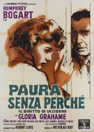 In a Lonely Place - Italian Movie Poster (xs thumbnail)