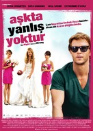 The Right Kind of Wrong - Turkish Movie Poster (xs thumbnail)