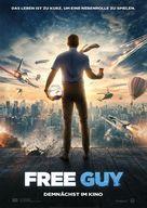 Free Guy - German Movie Poster (xs thumbnail)