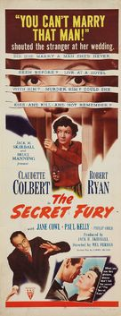 The Secret Fury - Movie Poster (xs thumbnail)