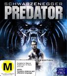 Predator - New Zealand Blu-Ray movie cover (xs thumbnail)