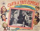 A Letter to Three Wives - Mexican Movie Poster (xs thumbnail)