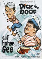 Saps at Sea - German Movie Poster (xs thumbnail)