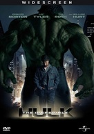The Incredible Hulk - DVD movie cover (xs thumbnail)
