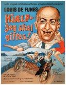 Le gendarme se marie - Danish Movie Poster (xs thumbnail)