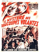 The Flying Saucer - Belgian Movie Poster (xs thumbnail)