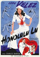 Honolulu Lu - Swedish Movie Poster (xs thumbnail)