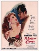 The Loves of Carmen - Movie Poster (xs thumbnail)