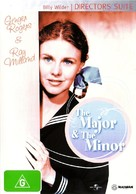 The Major and the Minor - Australian DVD cover (xs thumbnail)