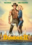 Crocodile Dundee II - Czech Movie Cover (xs thumbnail)