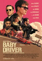 Baby Driver - Polish Movie Poster (xs thumbnail)