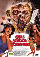 Girls School Screamers - Canadian DVD cover (xs thumbnail)