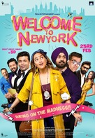 Welcome to New York - Indian Movie Poster (xs thumbnail)