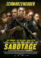 Sabotage - Spanish Movie Poster (xs thumbnail)