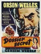 Mr. Arkadin - Belgian Movie Poster (xs thumbnail)