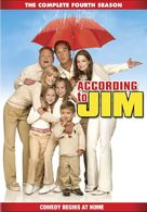 """According to Jim"" - DVD movie cover (xs thumbnail)"