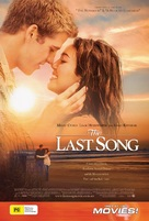 The Last Song - Australian Movie Poster (xs thumbnail)