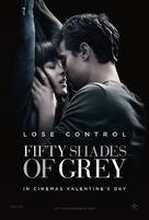 Fifty Shades of Grey - British Movie Poster (xs thumbnail)