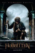 The Hobbit: The Battle of the Five Armies - Danish Movie Poster (xs thumbnail)