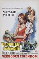 This Property Is Condemned - Belgian Movie Poster (xs thumbnail)